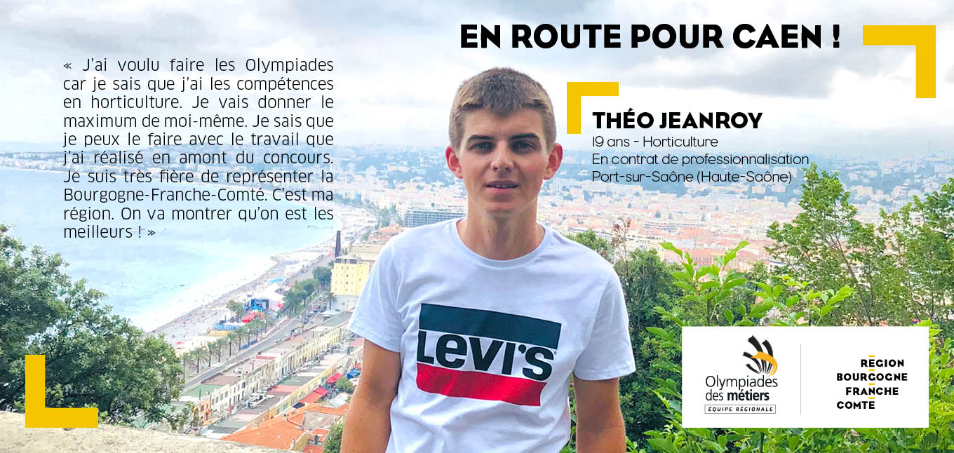 Théo Jeanroy, 19 ans, hoticulture