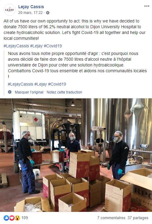 Lejay cassis, à Dijon - DR