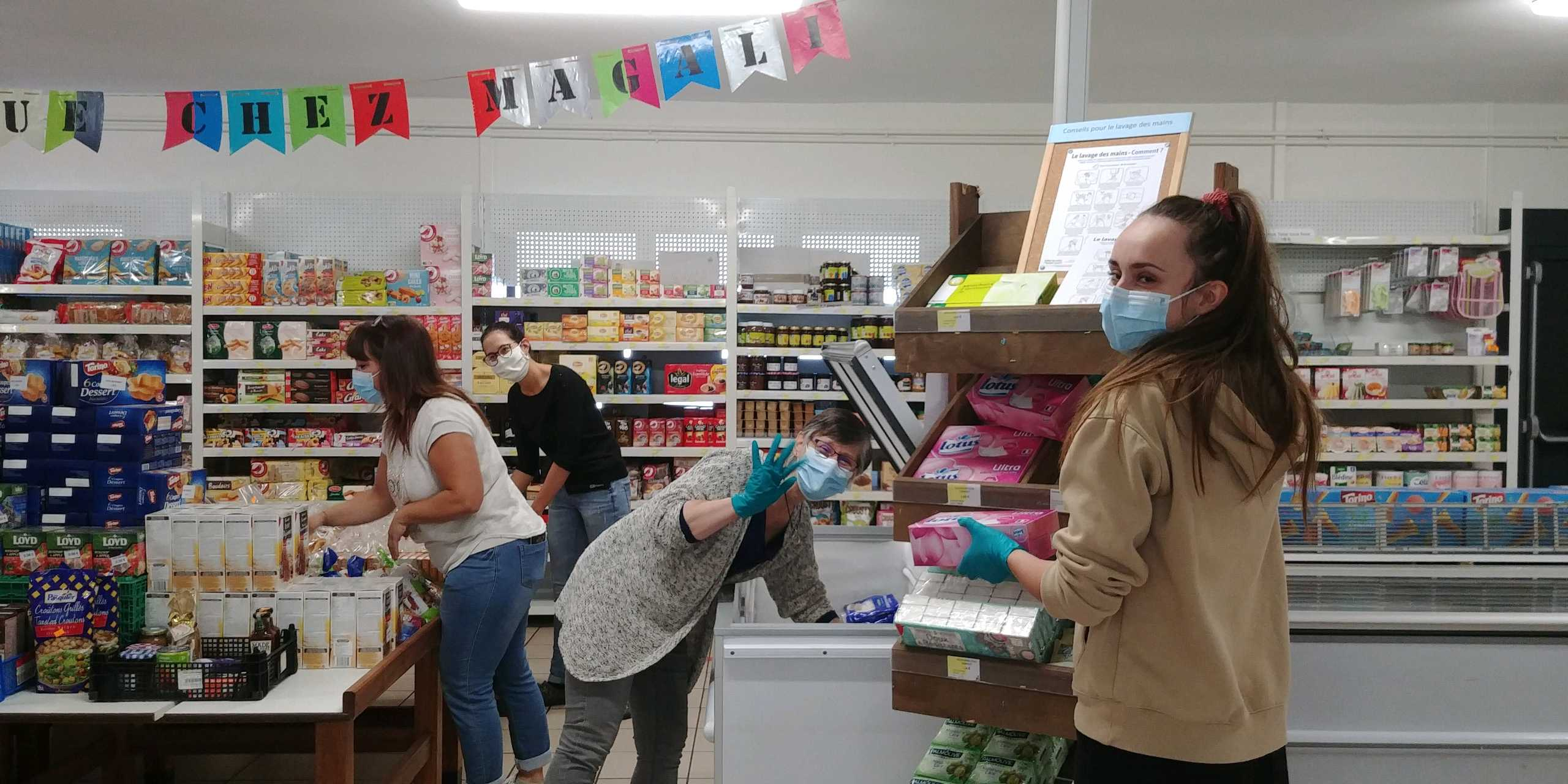 Epicerie Magali Sens, dans l'Yonne - Photo DR