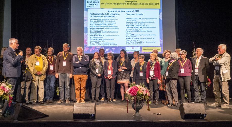 Les 25 membres du jury régional ont visité 47 communes entre le 23 juillet et le 1er août - Crédit photo Raphaël Helle