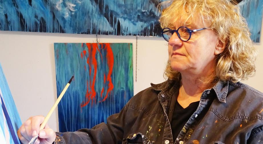 Anne Mallet, présidente de l'association la Baraque Depuis 2011 - Photo DR