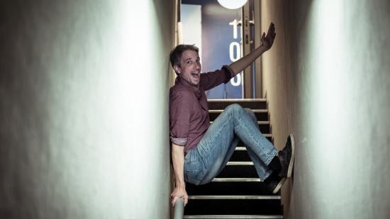 Guillaume Meurice, humoriste et animateur à France Inter