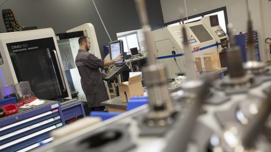 Ouvrier de SDS Industrie à Besançon (25)