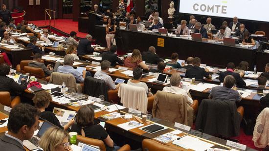 Assemblée plénière de la Région Bourgogne Franche-Comté