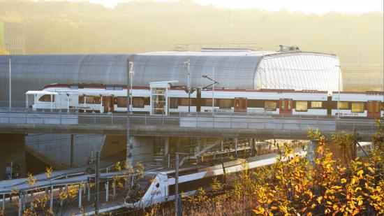 Ligne TER Belfort-Delle - Crédit photo 3 images