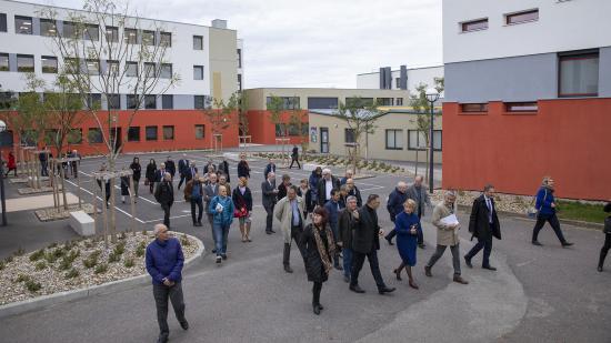 Inauguration du lycée Léon Blum au Creusot (71), mardi 6 novembre 2018  - Crédit Région  Bourgogne-Franche-Comté / David Cesbron