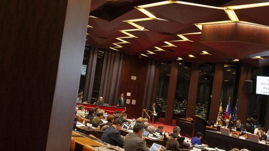 Assemblée plénière du Conseil régional de Bourgogne-Franche-Comté, jeudi 15 novembre 2018 à Dijon