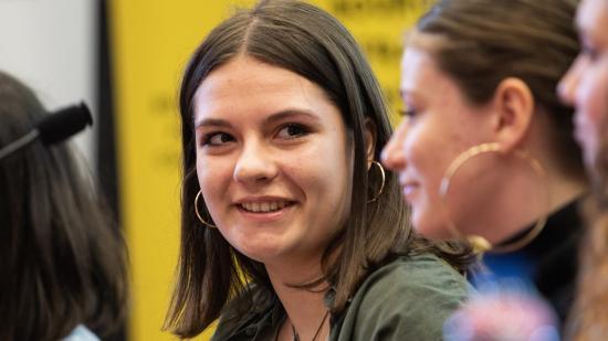 Edition 2019 du concours Bourgogne-Franche-Comté Reporter initié par la Région, jeudi 21 mars 2019, lycée Jacques Duhamel, Dole (39) - Photo Vincent Arbelet