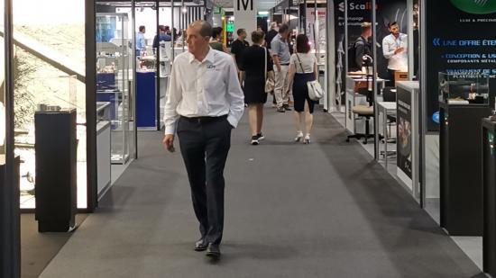 33 entreprises de Bourgogne-Franche-Comté étaient présentes au salon mondial de la haute-précision de Genève, du 18 au 21 juin 2019 - Phot Région Bourgogne-Franche-Comté