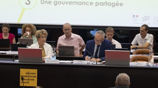 Adoption de la SCORAN en assemblée plénière jeudi 27 juin 2019 - Région Bourgogne-Franche-Comté David Cesbron