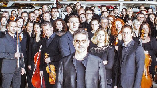 L'Orchestre Victor-Hugo Franche-Comté (OVHFC), dirigé depuis l'origine par Jean-François Verdier - Photo DR