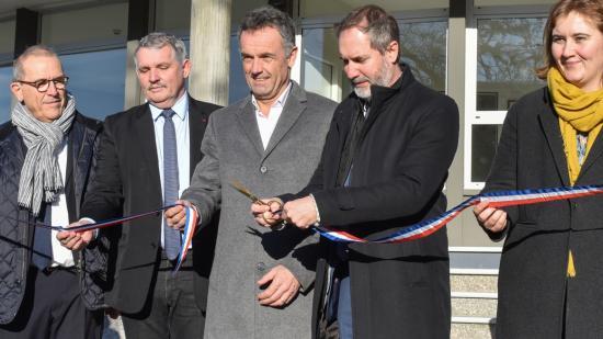 Inauguration du lycée Germaine Tillion à Montbéliard (25) après les 14 millions d'investissement de la Région Bourgogne-Franche-Comté, mercredi 15 janvier 2020 - Photo DR