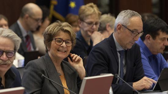 Assemblée plénière du Conseil régional de Bourgogne-Franche-Comté, vendredi 14 février 2020 - Photo David Cesbron