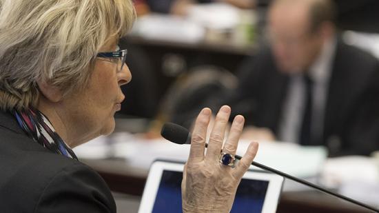 Marie-Guite Dufay, présidente de la Région Bourgigne-Franche-Comté - Photo David Cesbron