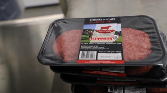 Steak haché 100 % comtois