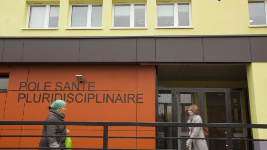 Pôle santé à Belfoert - Crédit photo Région Bourgogne-Franche-Comté / David Cesbron