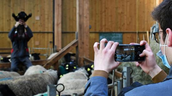 Hackaton organisé à l'occasion de la semaine de la presse et des médias à l'école, 22 au 27 mars 2021 - Photo Région Bourgogne-Franche-Comté