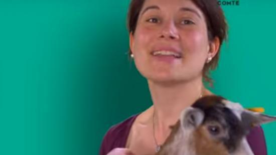 Claire Genet, agricultrice, créatrice de la ferme d'Ultéria à Saint-Bris-le Vineux (89) - DR