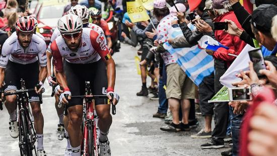 Tour de France 2019, arrivée à la Planche des Belles Filles (70) - Photo Région Bourgogne-Franche-Comté David Cesbron