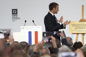 Inauguration du musée des beaux-arts et d'archéologie de Besançon, vendredi 16 novembre 2018 - Crédit David Cesbron