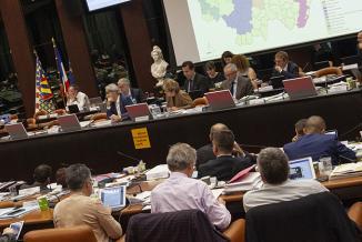 Assemblée plénière du Conseil régional de Bourgogne-Franche-Comté, vendredi 29 mars 2019 à Dijon - Crédit photo Région Bourgogne-Franche-Comté / David Cesbron