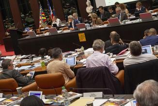 Assemblée plénière du Conseil régional de Bourgogne-Franche-Comté, vendredi 29 am rs 2019 à Dijon - ©DavidCesbron