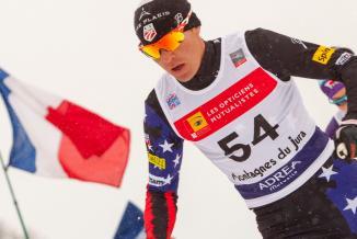 Légende photo : Des épreuves de ski nordique, comme le combiné, seront organisées dans le Haut-Jura, à Prémanon - Photo ©DavidCesbron
