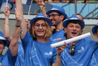 Les supporters français aux olympiades des métiers, Kazan (Russie), du 23 au 27 août 2019 - Crédit Région Bourgogne-Franche-Comté