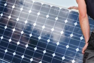 Panneau solaire - Photo DR