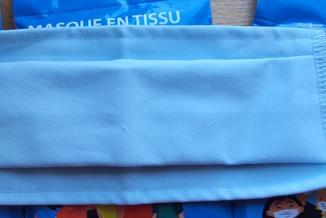 200 000 masques lavables sont distribués aux TPE et commerçants de Bourgogne-Franche-Comté - Photo DR