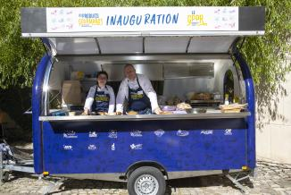 Food truck du GPPR - Photo David Cesbron