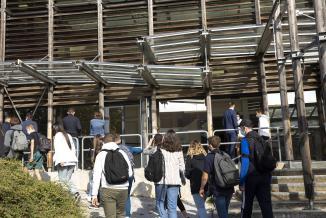 Lycée Louis Pergaud de Besançon - Photo David Cesbron