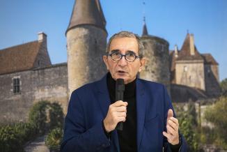 Patrick Ayache, intervenant lors des rencontres régionales du tourisme, mardi 1er décembre 2020 - Crédit photo Région Bourgogne-Franche-Comté / David Cesbron