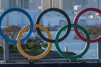 Anneaux olympiques, Jeux de Tokyo 2020 - Photo DR
