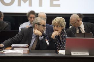 Michel Neugnot et Marie-Guite Dufay - Photo Région Bourgogne-Franche-Comté David cesbron