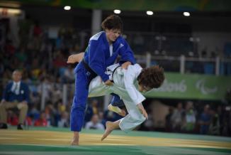 Sandrine Martinet, engagée aux Jeux Paralympiques de Tokyo 2020 (judo, moins de 48  kilos) - Photo DR