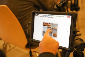Micro-folies en Bourgogne-Franche-Comté, musée numérique  initié par le Ministère de la Culture - Photo DR