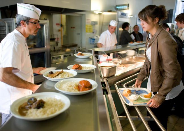 cuisinier au lycée Emilien Gauthey