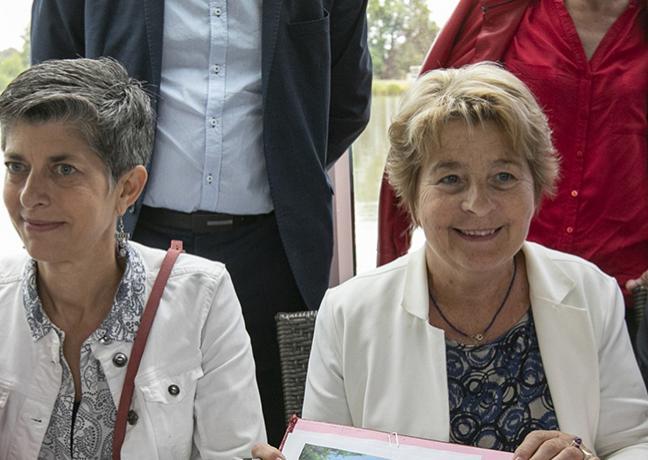Signataire du contrat de canal de Bourgogne, jeudi 6 septembre 2018 - Région Bourgogne-Franche-Comté / David Cesbron