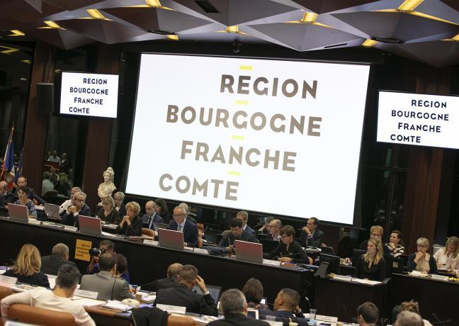 Assemblée plénière du Conseil régional de Bourgogne-Franche-Comté, vendredi 12 octobre 2018