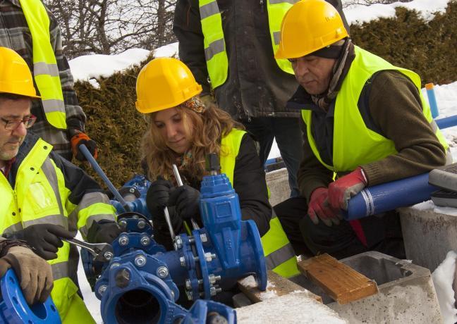 Formation traitement des eaux à Mamirolle (25)