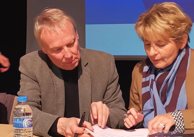 Signature de contrat Cap Territoire Pays Val de Loire Nivernais, mardi 20 novembre 2018 - Photo DR