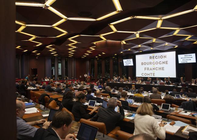 Assemblée plénière du 15 novembre 2019 Photo David Cesbron