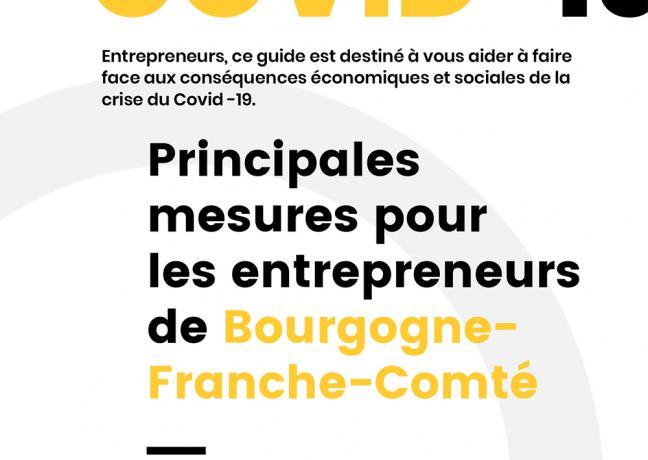 Covid-19 - Principales mesures pour les entrepreneurs de Bourgogne- Franche-Comté
