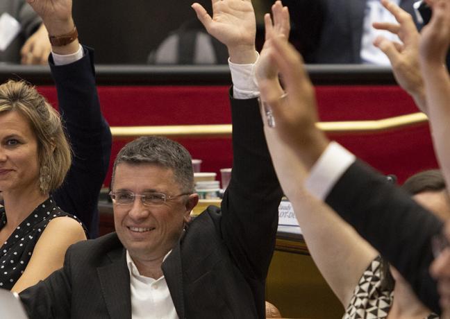Assemblée plénière du Conseil régional de Bourgogne-Franche-Comté - Photo David Cesbron