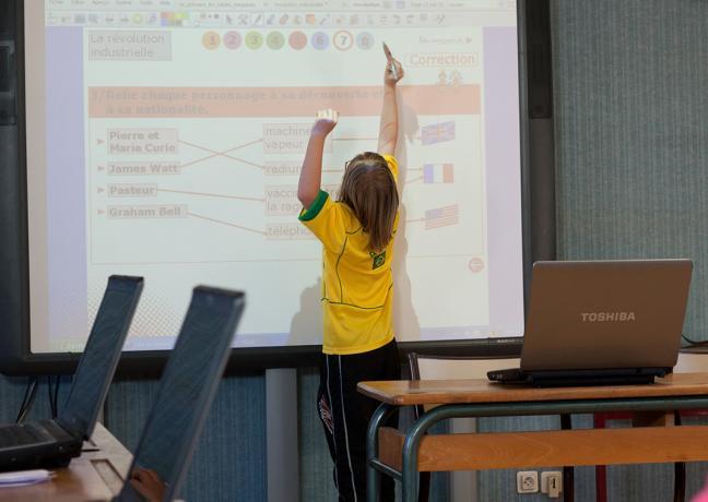 Ecole numérique - DR