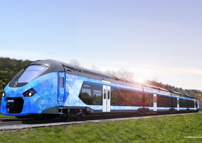 Train hydrogne - Crédit photo Alstom