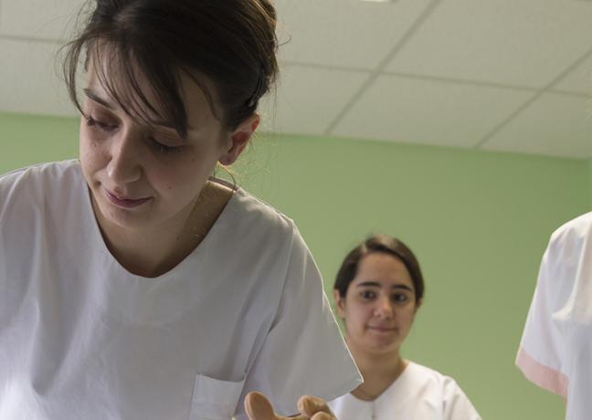 Institut de Formation en Soins Infirmiers (IFSI) à Semur en Auxois (21) - Photo DR