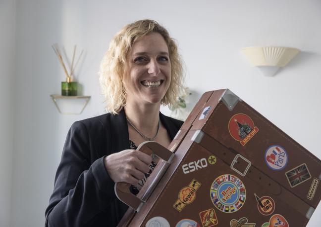 Mélanie Mambré, fondatrice de la plateforme de tourisme durable Vaovert - Photo David Cesbron Région Bourgogne-Franche-Comté