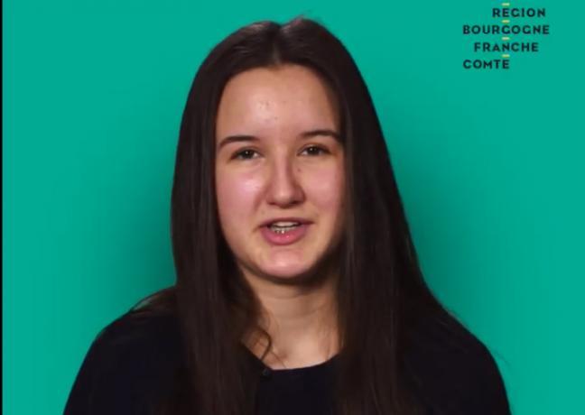 Krisztina Winter, étudiante - DR